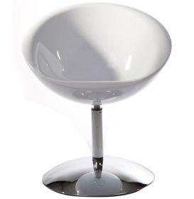 křeslo/židle BOWL WHITE