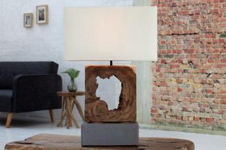 stolní lampa FUSION WHITE