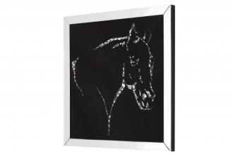 obraz s krystaly HORSE 60-CM