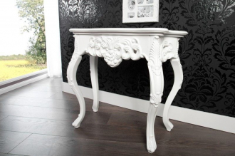 konzolový stolek VENICE WHITE 85