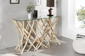 konzolový stolek DRIFTWOOD 120-CM naplavené dříví