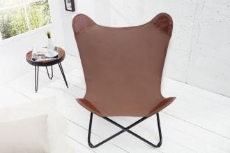 židlo-křeslo BUTTERFLY BROWN