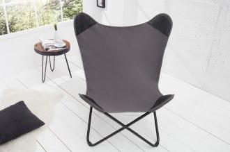 židlo-křeslo BUTTERFLY GREY