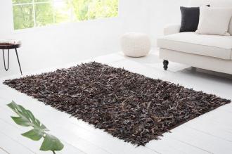 koberec WILD WEST BROWN pravá kůže