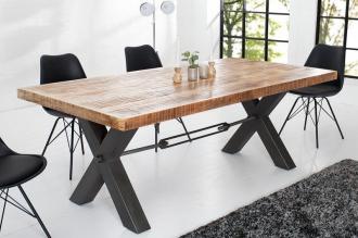 jídelní stůl IRON CRAFT 240-A masiv mango