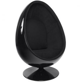 křeslo SPACE EGG BLACK