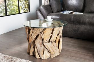 Konferenční stolek NATURE LOUNGE 50 CM naplavené dříví