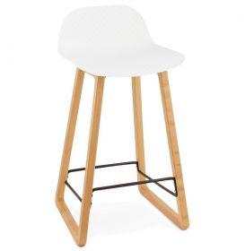 barová židle MORONI WHITE