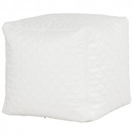 taburet-sedací vak GITER WHITE