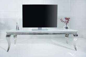 televizní stolek MODERN BAROCCO 160-WHITE