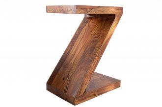 Odkládací stolek ZET 45 CM masiv sheesham