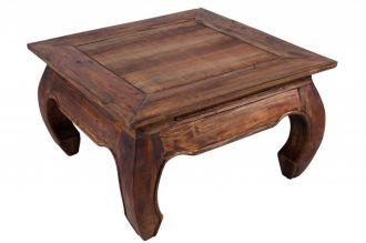 konferenční-odkládací stolek SHABBY 60-A masiv mahagon