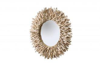 Designové zrcadlo RIVERSIDE NATUR naplavené dříví - rozbaleno