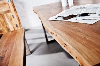 jídelní stůl MAMMUT 180-A masiv akácie