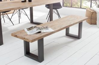 stolová lavice WOTAN 160-C masiv akácie