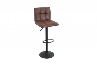 Barová židle MODENA 95-115 CM vintage hnědá