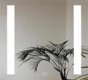luxusní zrcadlo LUMINA 70/70 LED osvětlení s dotykovým senzorem