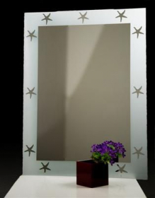 zrcadlo STARS SILVER 80/60
