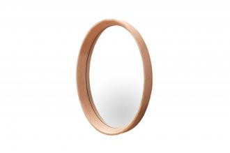 zrcadlo NATURE OVÁL 43/33-D  masiv dub
