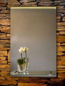 zrcadlo ORION 80/60 LED osvětlení + polička