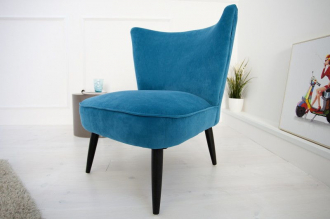 židlo-křeslo RETRO SIXTIES PETROL