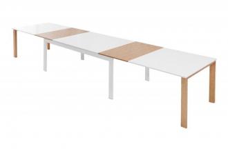 jídelní stůl GOLIATH WHITE OAK 180-420 CM rozkládací