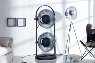 stolní lampa STUDIO 2M BLACK SILVER