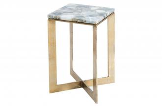 odkládací stolek ONYX GOLD ACHÁT
