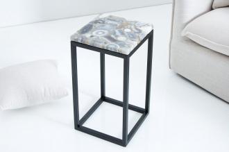 odkládací stolek ONYX BLACK ACHÁT