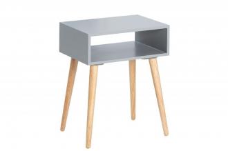 odkládací stolek SCANDINAVIA SQUARE GREY