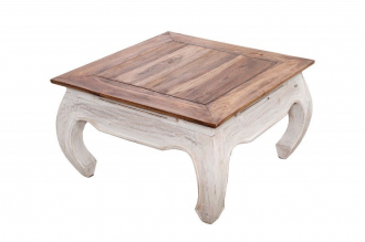 konferenční-odkládací stolek LA FLEUR 60-A masiv mahagon