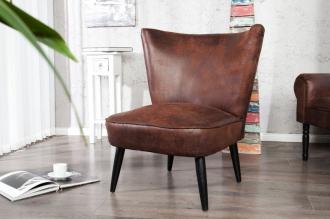 židlo-křeslo RETRO SIXTIES BROWN