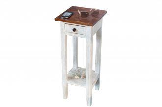 Telefonní stolek LA FLEUR 75 CM masiv teak