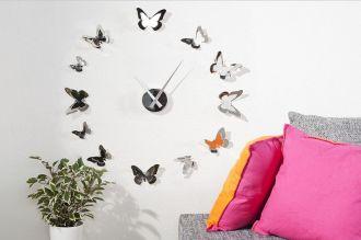 nástěnné hodiny BUTTERFLIES