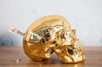 pokladnička SKULL GOLD