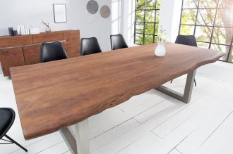 jídelní stůl MAMMUT 200-D masiv akácie