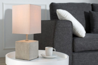 stolní lampa CEMENT CUBE