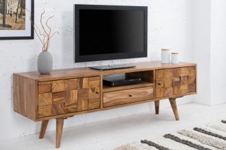 televizní stolek MOSAICO 140-CM masiv sheesham