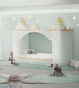 Luxusní dětská postel KINGS & QUEENS CASTLE