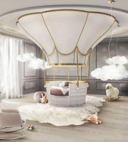 Luxusní dětská postel FANTASY AIR BALLOON