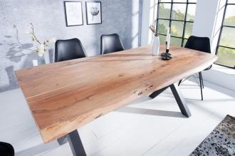 Jídelní stůl MAMMUT 180-X masiv akácie