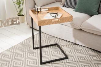 Odkládací stolek CIANO s odnímatelným podnosem