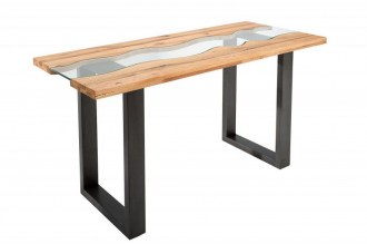 Konzolový stolek WAVE RIVER 140CM masiv dub