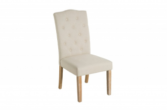 Židle ISLAND bez područky BEIGE