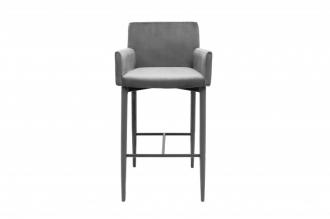 Barová židle MILANO GREY s područkou