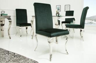 Židle MODERN BAROCCO DARK GREEN