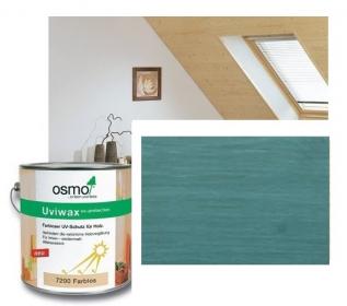 Dekorační vosk transparentní - 0,75 L / 3156 - Tyrkys zelená