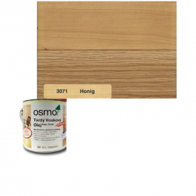Tvrdý voskový olej barevný - 3071/ 0,75L - Medový