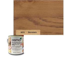Tvrdý voskový olej barevný - 3072/ 0,75L -  Jantarový
