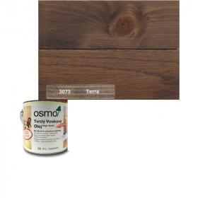 Tvrdý voskový olej barevný - 3073/ 0,75L -  Hnědá zem